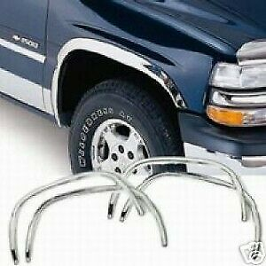 For Toyota Pickup 1989 1995 Qmi 875006 Polished Stainless Fender Trim Molding