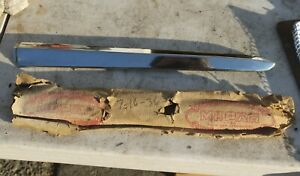 1954 Plymouth Nos 1494_66 Right Upper Outer Grille Grill Molding