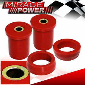 1979 2004 Ford Mustang Rear Lower Control Arm Bushing Upgrade Red Polyurethane