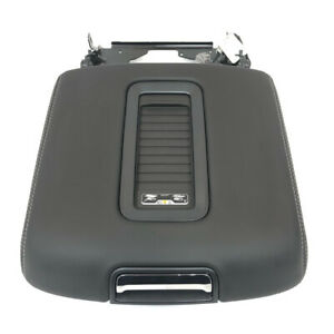 Chevrolet Gmc Black Leather Center Console 15 19 Armrest Lid W Wireless Charger