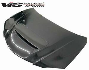 Vis Racing M Speed Style Carbon Fiber Hood For 2004 2009 Mazda 3 4dr