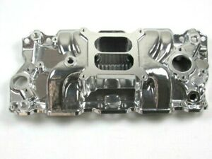 1957 1995 Small Block Chevy 350 1500 6500rpm Intake Manifold Polished Bpe 4008p