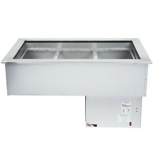 Apw Wyott Cw 3 Three Pan Drop In Refrigerated Cold Food Well 230v 50 Hertz