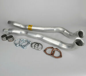 1965 1968 Corvette Front Big Block Exhaust Pipes Left Right