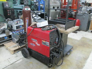 Lincoln Electric Precision Tig 225 1ph Welding Machine W arc Capability