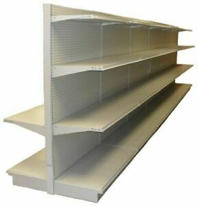 Gondola Shelving Complete Sections Retail Store Aisle Wall Pick Size