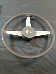 Vintage 1970 1976 Mg Midget Mgb 15 1 2 Steering Wheel