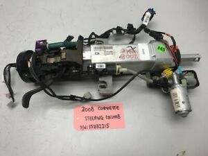 06 Chevrolet Corvette C6 Tilt Steering Column Assembly 15782215