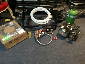 6 Button Wunderbar Soda System Mccans carbonator 3 Flojet Pumps plus More