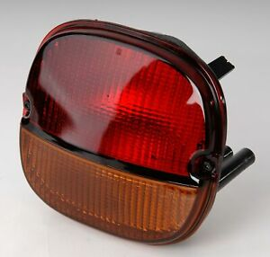 1991 1996 Corvette C4 Export Red Over Amber Taillight Assembly 614134