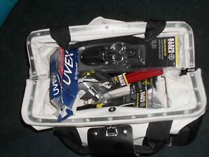 Huge Lot Of New Klein Electrician Hand Tools With Canvas Bag