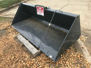 New 84 Virnig Light Material Bucket For Loader Or Skid Steer