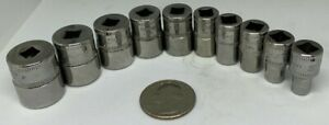 Snap On 1 4 Drive Metric 5mm 15mm Tmm15 Socket Sold Separate
