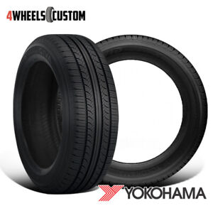 2 X New Yokohama Avid Touring s 195 65r15 89s All season Quality Tire