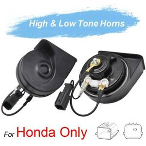 For Honda Civic Cr V Odyssey Jazz City Accord 410 510hz Twin Tone Snail Horn