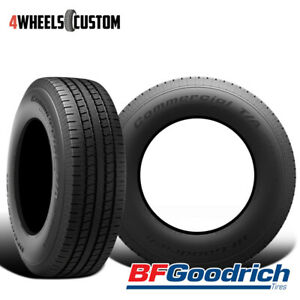 2 X New Bf Goodrich Commercial T a A s 2 235 85r16 120r Highway All season Tire