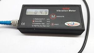 Reliabilitydirect Hand held Vibration Meter 908b