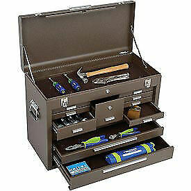 Kennedy 26 11 drawer Machinists Chest Brown