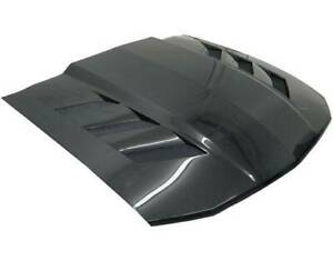 Vis Racing Ams Style Carbon Fiber Hood For 2005 2009 Ford Mustang 2dr
