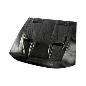 Vis Racing 5 Style Carbon Fiber Hood Mach For 2005 2009 Ford Mustang 2dr