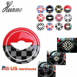 Car Steering Wheel Decal Sticker For Bmw Mini Cooper Jcw R55 R56 R57 R60 R61 Usa