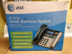 At t1040 4line Small Business Phone System Compatible W 1040 1070 1080 Unit