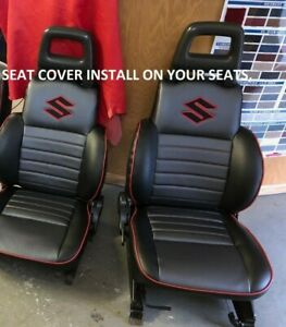 1986 1995 Suzuki Samurai Seat Covers Front Only