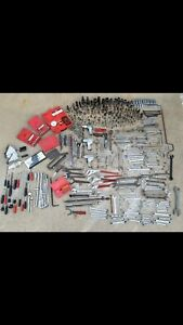 Lot Of 500 Pcs Snap on mac blue Point cornwell matco Tools Sockets Wrenches Etc