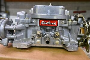 Edlebrock Proformer 1411 750 Cfm Electric Choke For Bb Chevolet W Adp Plate