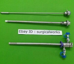 Laparoscopic Resectoscope Urology Inner And Outer Sheath 24 Fr Instruments