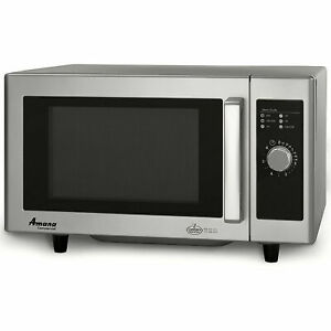 Commercial Microwave Oven 0 8 Cu Ft 1000 Watt Dial Control Stainless Steel