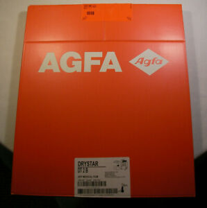 Agfa Drystar Dt2 B Ekmka 14x17in 35x43 Dry Medical Xray Film 100 Nif Expired
