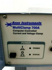 Axon Instruments Multiclamp 700a Computer controlled Current And Voltage Clamp