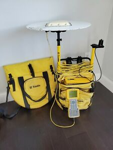 Trimble Survey Backpack 4400 Receiver Tsc1 Data Collector L1 l2 Antenna Cables