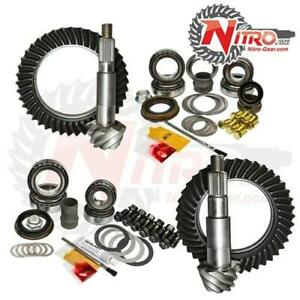 07 newer Jeep Wrangler Jk Non Rubicon Gear Package Kit Nitro Gear And Axle 4 88