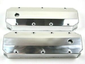 Chevy 396 454 Fabricated Tall Aluminum Valve Cover Polished Bpe 2316p
