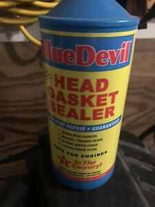 Blue Devil Permanent Sealer Head Gasket Sealant 32 Oz