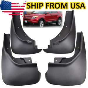 Oe Us Seller Mud Flaps Splash Guards Mudguard Fenders For Ford Explorer 11 17