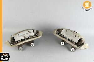 07 13 Mercedes W221 S63 Cl63 Cl65 Amg Rear Left And Right Brake Caliper Set Oem