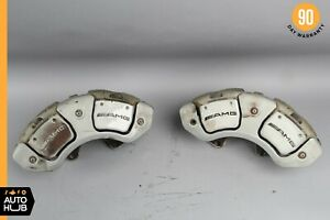 07 13 Mercedes W221 S63 Cl63 Cl65 Amg Front Left And Right Brake Caliper Set Oem