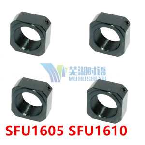 Rn12 Metal Lock Nuts For Sfu1605 Sfu1610 Sfu1604 Ball Screw Lock Nut Rn12 M12 X