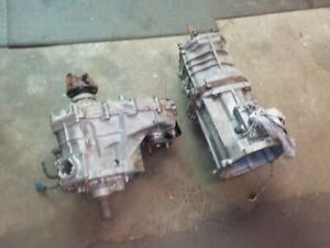 Toyota Tacoma 98 W59a Manual Transmission Transfer Case 4cyl 5 Speed 4x4