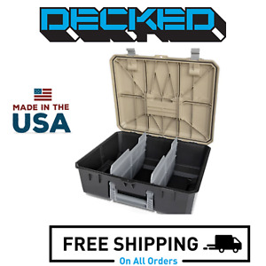 Decked Ad5 D Box Drawer Tool Box With Desert Tan Lid