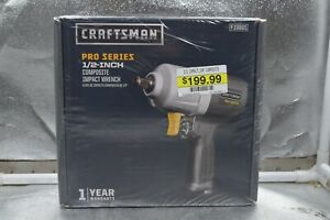 Craftsman Composite Impact Wrench Pro Series 1 2 Inch Drive 919865 New