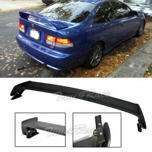 For 96 00 Honda Civic Mugen Style Rear Spoiler Wing Trunk Abs Plastic 2dr Coupe