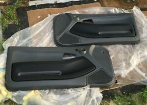 1992 1995 Custom Wrapped Honda Civic Ex Coupe Left Right Door Panel Covers