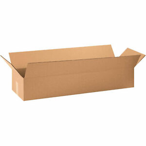 36 X 10 X 6 Cardboard Long Corrugated Box 65 Lbs Capacity 200 ect 32