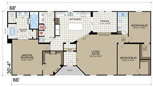 New Modular Home 1986 Sq Ft great Opportunity