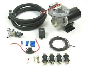 Universal 12v Electric Vacuum Pump Install Kit Gm Ford Chevy For Brakes Bpb 3066