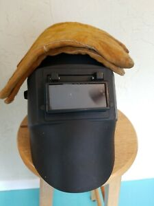 Welding Hood And Gloves